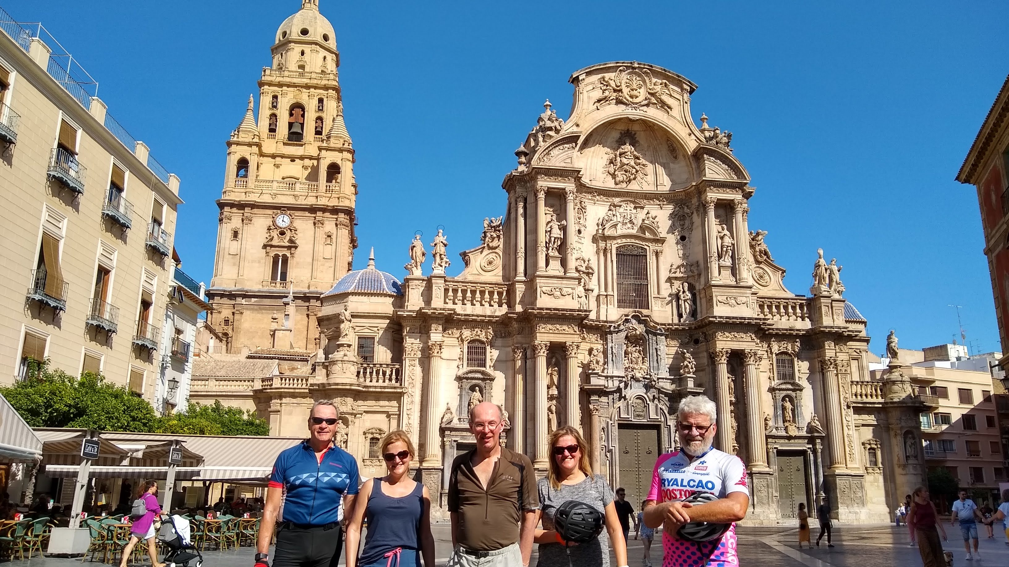 Murcia City Bike Tour. The Santa María cathedral.